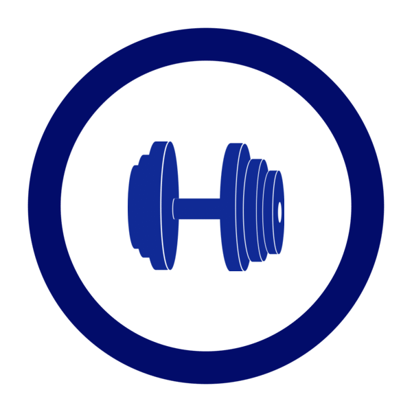 "Image du Badge ""Dumbbell (2464)"" fourni par Henry Blas, from The Noun Project sous Creative Commons - Attribution (CC BY 3.0)"