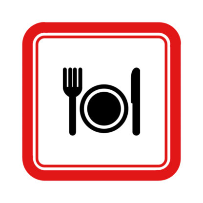"Image du Badge ""Restaurant (6564)"" fourni par Roberto Pinto, from The Noun Project sous Creative Commons - Attribution (CC BY 3.0)"
