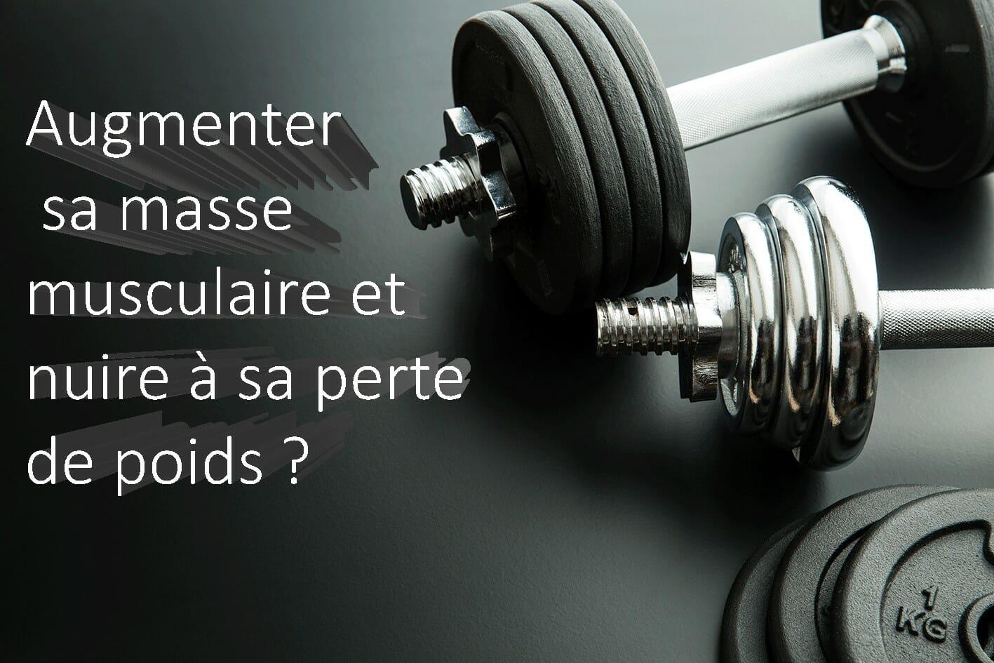 masse musculaire perte de poids
